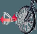 Ziegler Fahrradwandhalter originalf