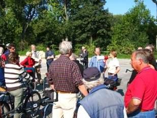 EFI Fahrradtour Baustellen 28sep08 Foto Schruck IMG_0758