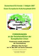 Mitreden über Europa 2007 Zeche Zollverein - Der RUTE präsentiert sich europäisch ...