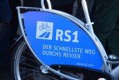 Schild auf Nextbike Eröffnung RS1 E-MH 2015-11-27 Foto Schruck DSC_0031