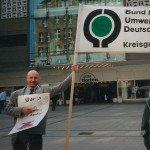 Antiatom-Aktion 1995 BUND Willy-Brandt-Platz